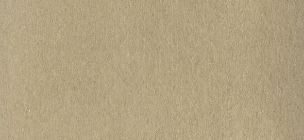 Clean brown kraft cardboard paper surface texture