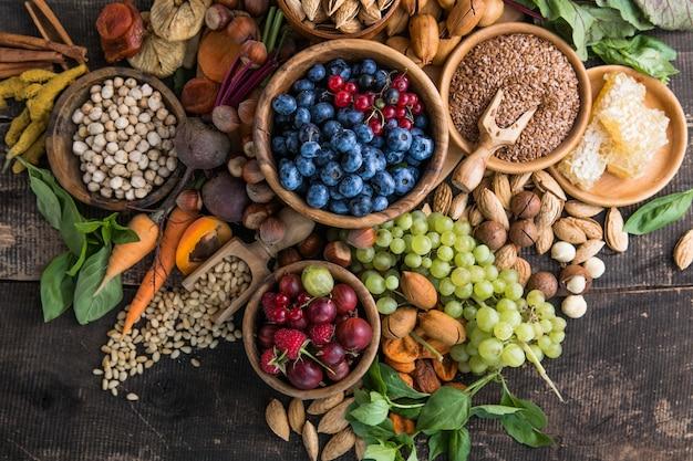 Чистое питание, флекситаристская средиземноморская диета с большим выбором продуктов