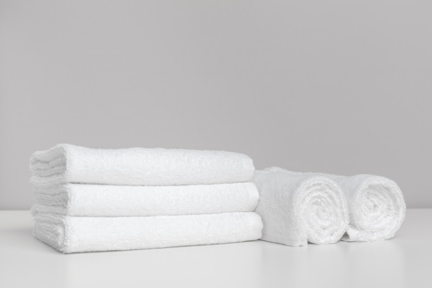 Clean soft towels