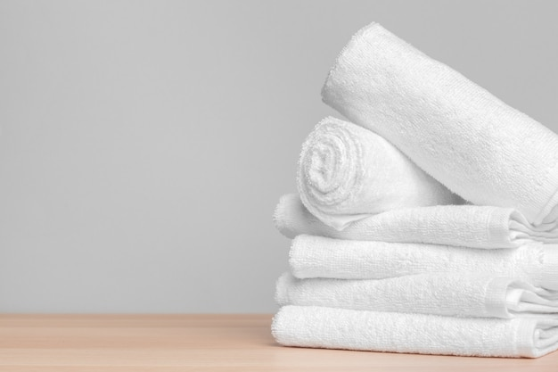 Clean soft towels