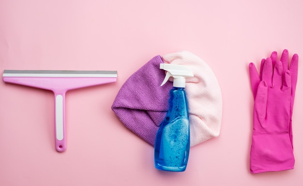 Уборка и необходимые предметы