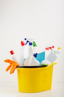 Cleaning collection in bucket copy space