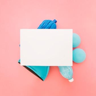 紙を使ったクリーニングコンセプト