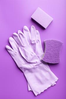 Чистящие средства бытовые губчатые перчатки