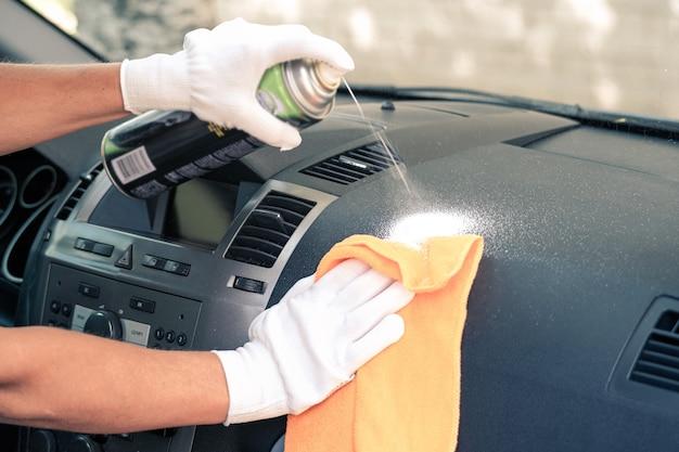 자동차 내부 청소. 청소업체. 자동차 인테리어 관리 서비스입니다.