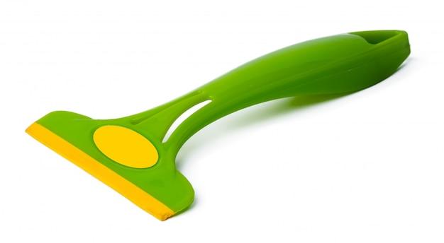 Инструмент для очистки окон, изолированные на белом фоне