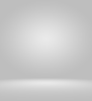 Clear empty photographer studio background abstract, background texture of beauty dark and light clear blue, cold gray, snowy white gradient flat wall and floor in empty spacious room winter interior.