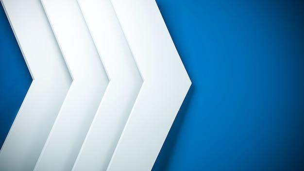 Четкий узор абстрактный фон стрелка бело-синяя элегантная спинка для презентаций и других технологий.
