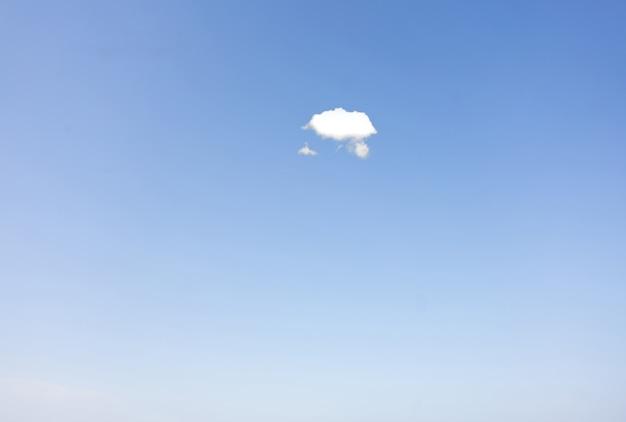 Ясное небо и минимальное небо с небольшими облаками