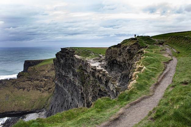 Cliffs of moher cross ireland