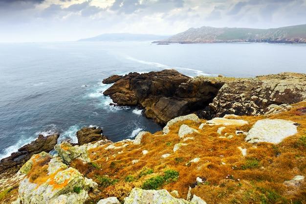 Cliffs at ocean  coast