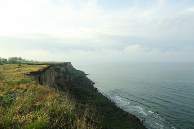 Cliffs. scenic nature along the black sea