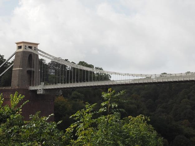 ブリストルのクリフトン吊橋