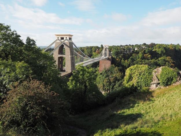 Клифтонский подвесной мост в бристоле