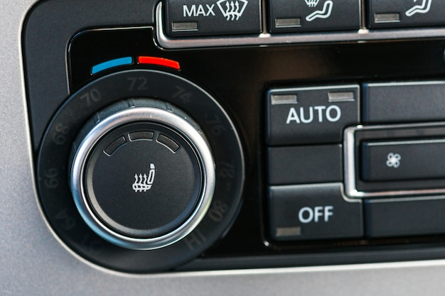 Climate control unit in the new car