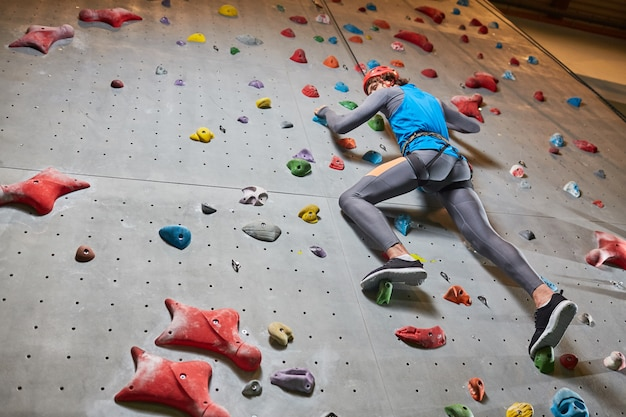 Climbing at leisure