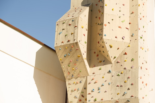 Climbing wall outdoor