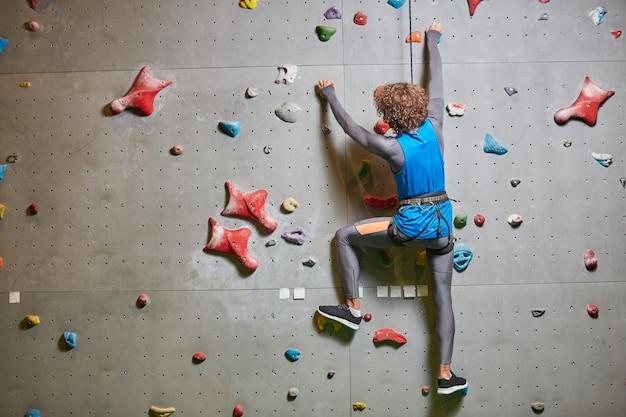 Climbing wall