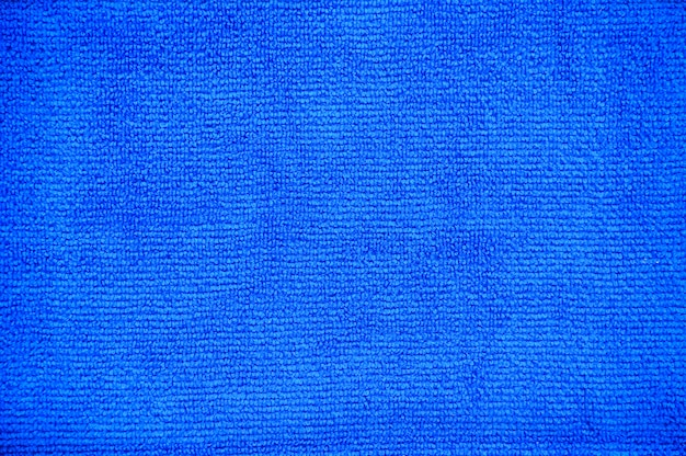 Clipping path, close up of fold multi purpose blue micro fiber cloth