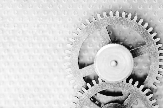 시계 메커니즘, 흑백 사진