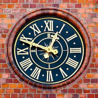 Clock on a municipal tower