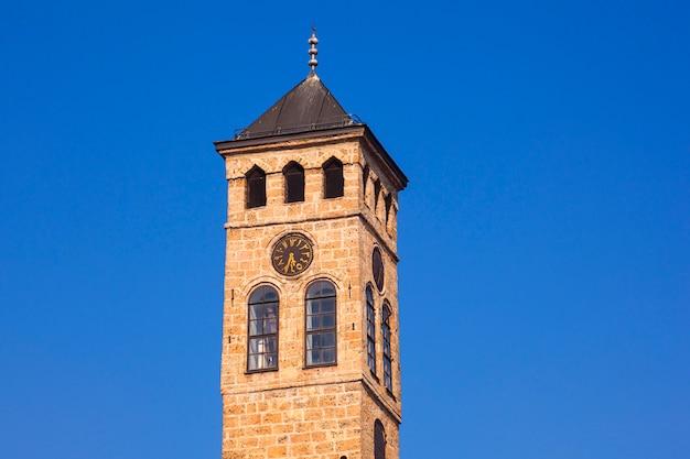 Clock tower, sarajevo