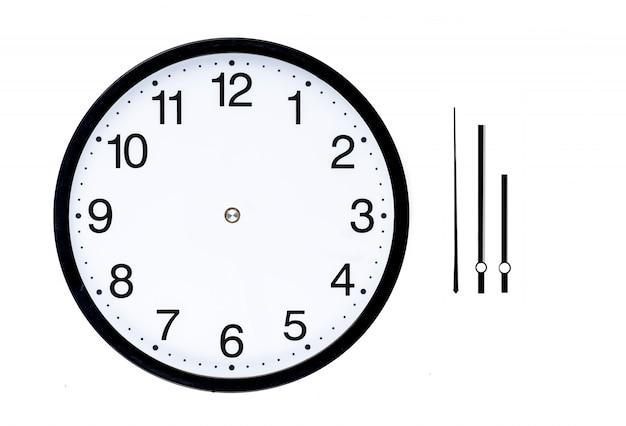 clock diagram for kids