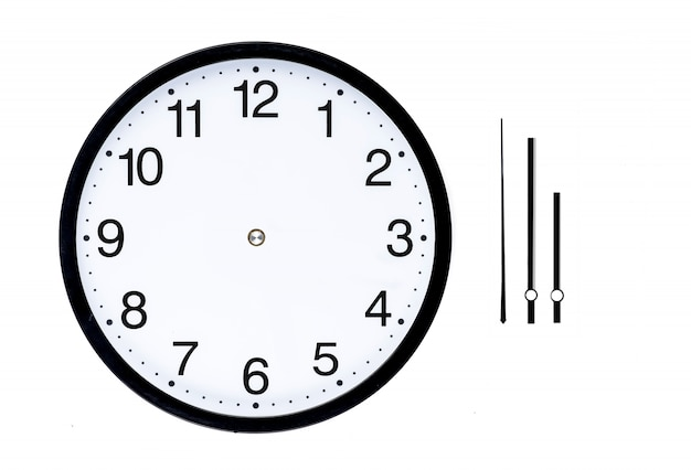 Clock without hands