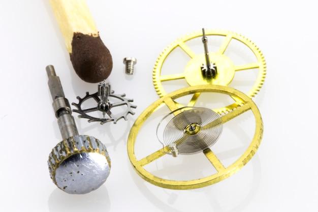 시계 장치 오래된 기계식 고해상도 및 세부 사항