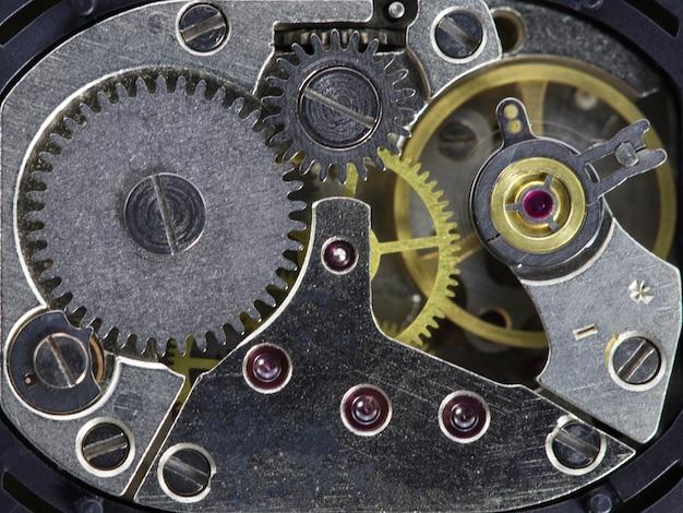 시계 장치 오래 된 기계 고해상도 및 세부 사항