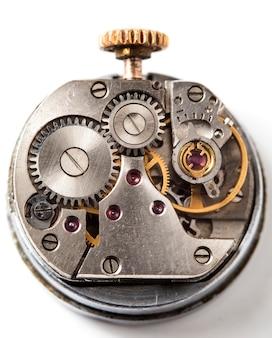 시계 빈티지 기계식 시계 고해상도 및 세부 사항