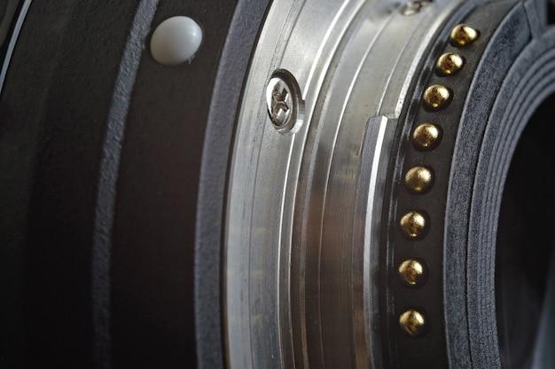 Close up of a 50 mm lens