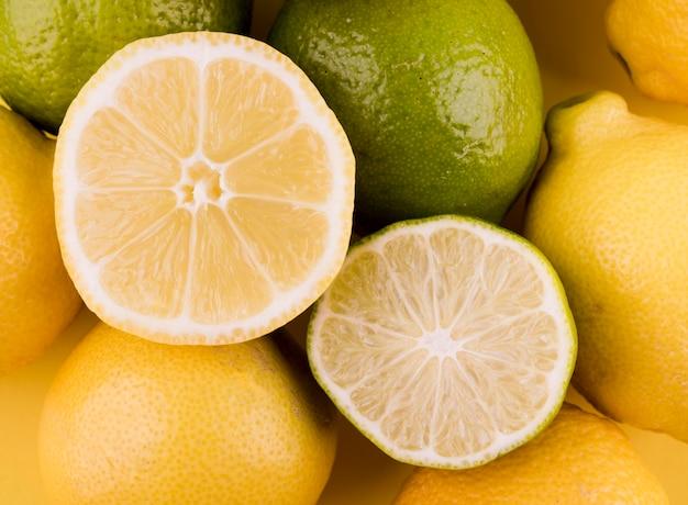 Макро ассортимент органических фруктов