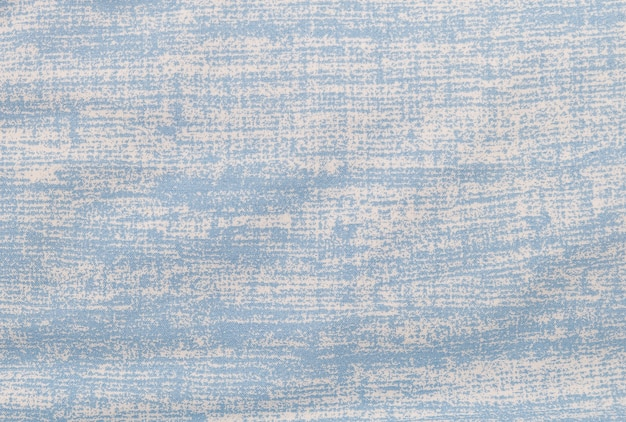 Close up background pattern of grung white and blue fabric