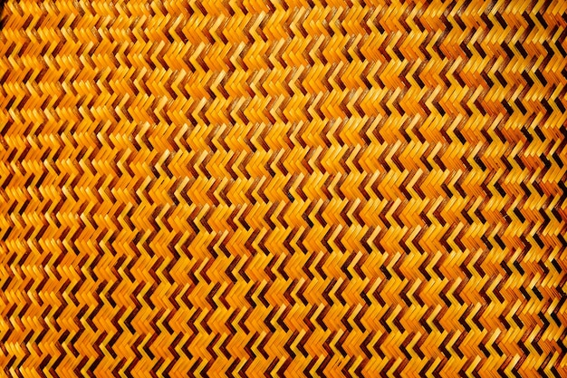クローズアップ竹織はジグザグパターンです