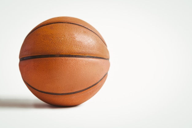 Close up of basket ball