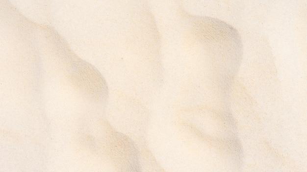 해변 모래 질감 흰색 배경을 닫습니다