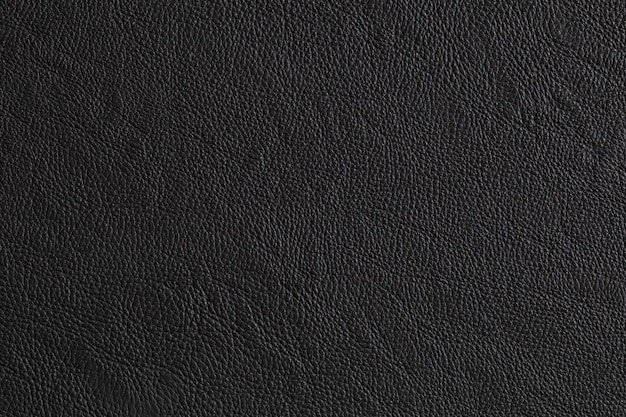 Close up black leather and texture background.