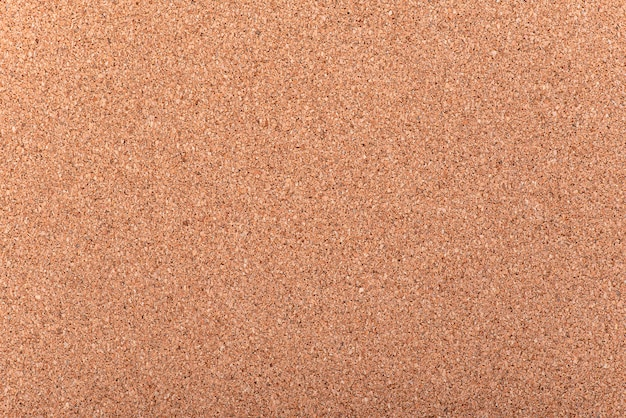 Close-up blank cork board as background or texture