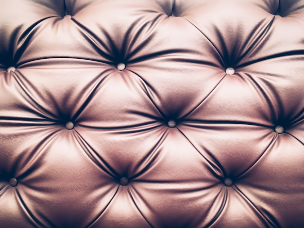 Close up blown leather sofa backrest backround