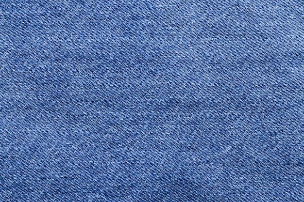 Close up blue denim jeans background texture