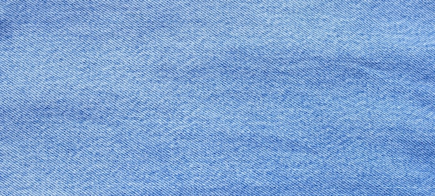 Close up of blue jeans texture for surface.