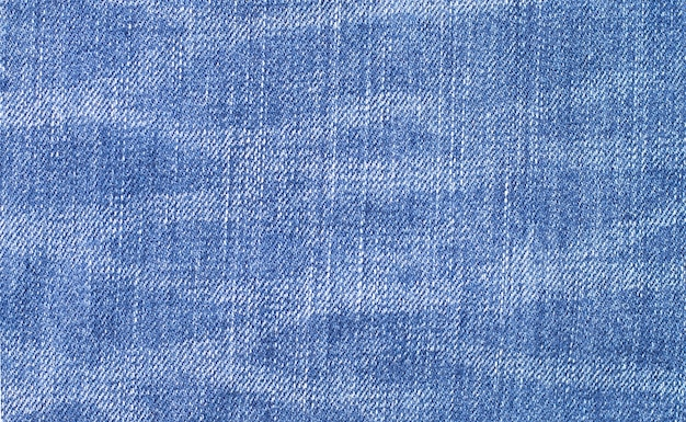 Close up of blue jeans texture for wall.