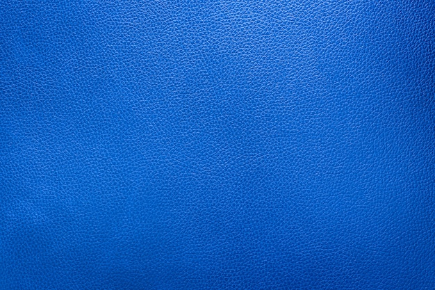 Close up blue leather and texture background