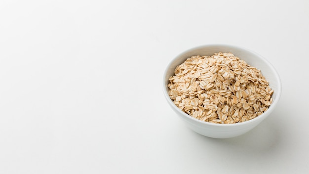 Close-up bowl of cereals