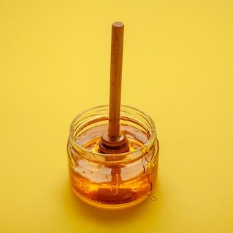 Close-up bowl with homemade honey