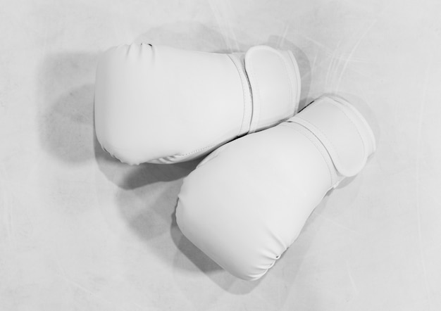 Close up boxing gloves