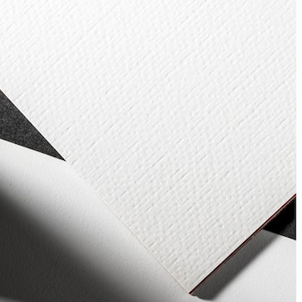 Крупный план брендинга белый материал