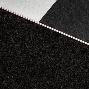 Крупный план брендирования темного материала