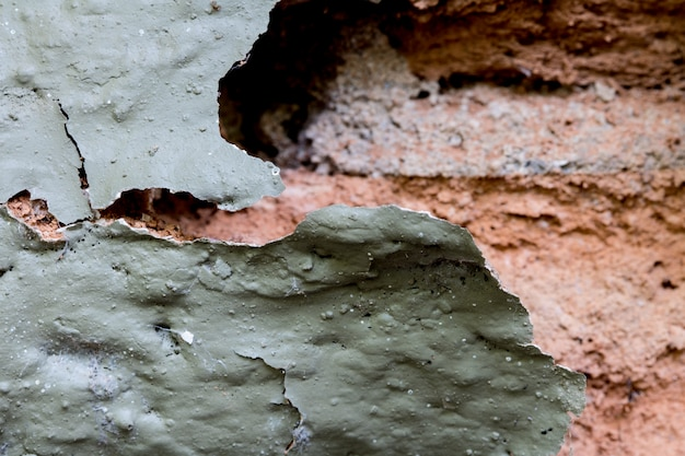 Close-up brick wall texture with cracks.with copy space